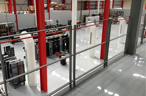 Flowcrete Provide Flowshield for Nilpeter Printing Partners