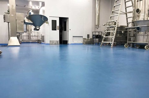 Specialist Hygienic Floors Supplied to Kusum Healthcare
