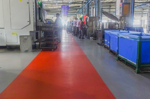 Automotive Manufacturer Fortuna Installs Robust Flooring Solution