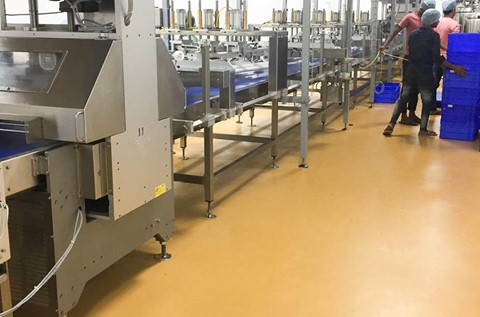 Sobisco Chooses Fresh Flooring from Flowcrete India
