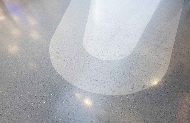 Flowcrete India's terrazzo flooring range Mondéco provides unlimited design potential