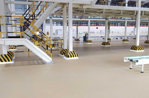 Flowcrete India Provide Fresh Flooring for Hindustan Foods Ltd