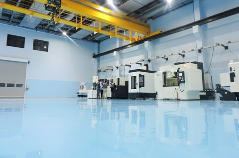 Manufacturing Site Protects Floor with Flowshield SL