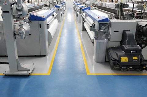 New Textile Facility Specifies Flowcrete Flooring