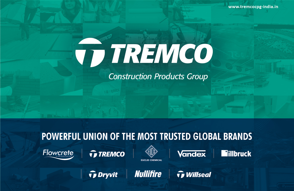 Flowcrete India is a part of the new ''Tremco Construction Products Group Globally''