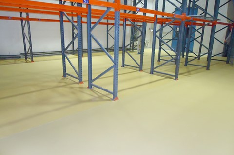 Modern Flooring Solution for Pharmaceutical Plant